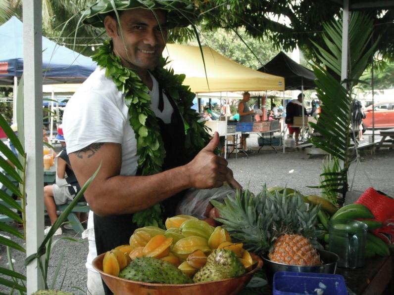 El chiringuito de los smoothies en el market