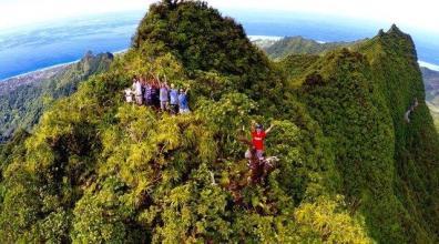 eric i amics en la montaña
