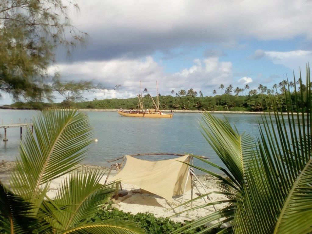 Marumaru y beach hut